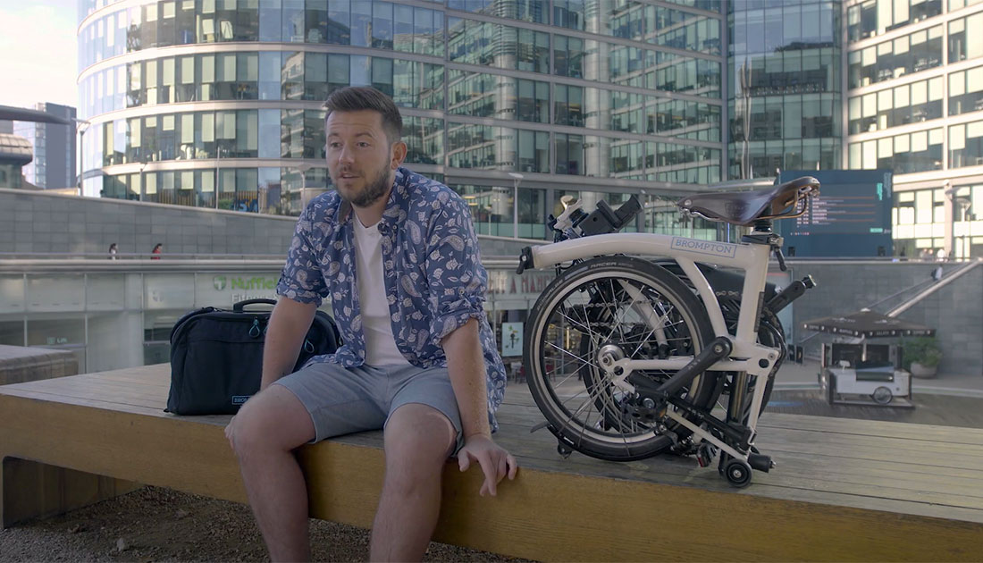Brompton Electric folding bike